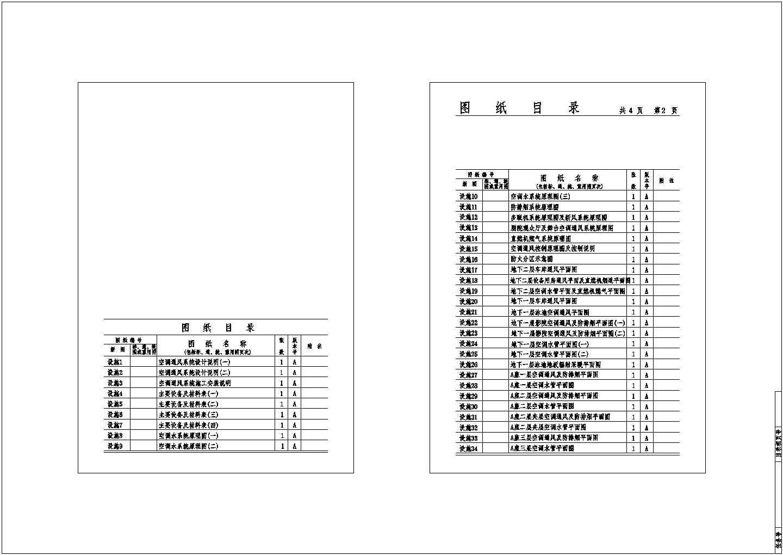 [湖南]商业综合体建筑空调通风防排烟系统设计施工图图片1
