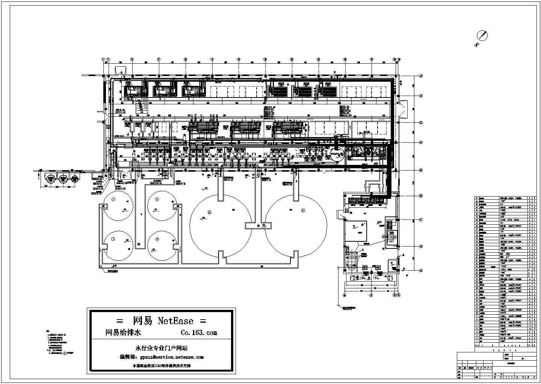 电厂化水车间管道设备布置图图片1