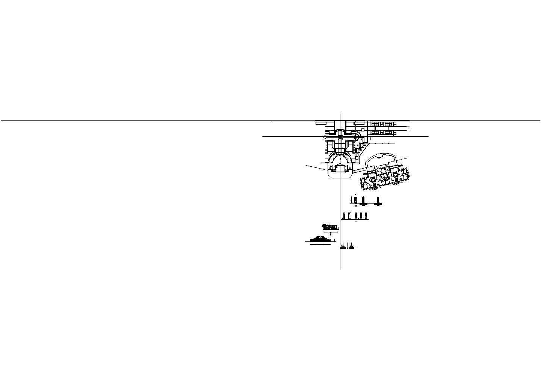 精神堡垒cad施工图详图+效果图图片1