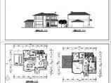 两层现代风格住宅建筑方案设计图图片1