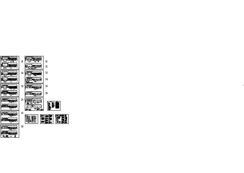某六层办公楼电气施工图图片1
