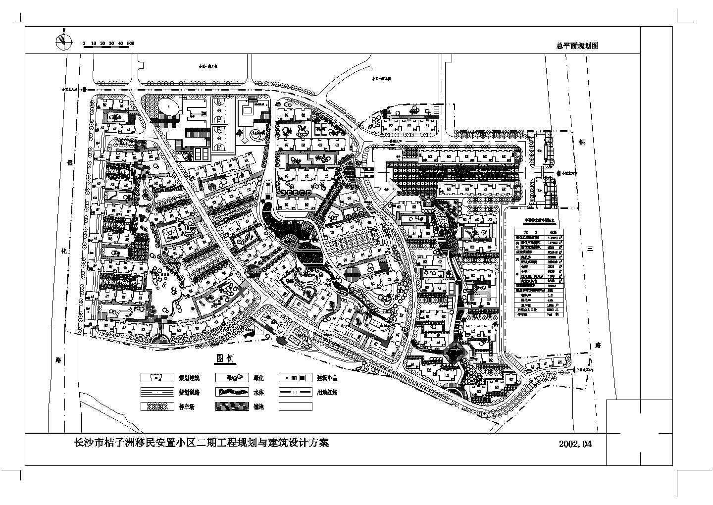 某小区cad总平面规划图图片1