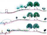 西安�汉颖鹾庸�园景观设计方案图片1