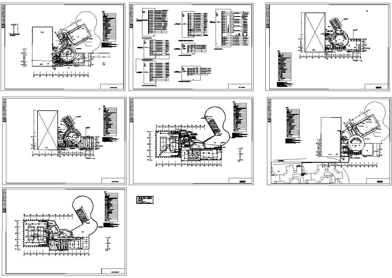 某二层会所电气设计图纸图片1