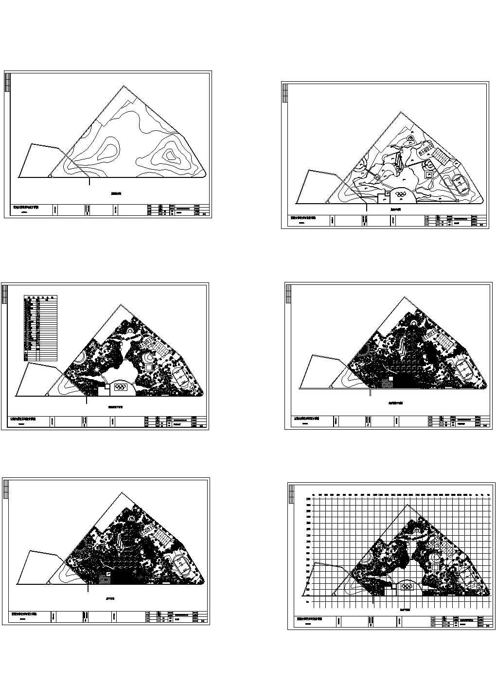 北戴河奥运主题公园景观设计方案图图片1