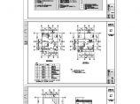 某地区联排别墅结筑结构施工图含效果图(设计说明)图片1