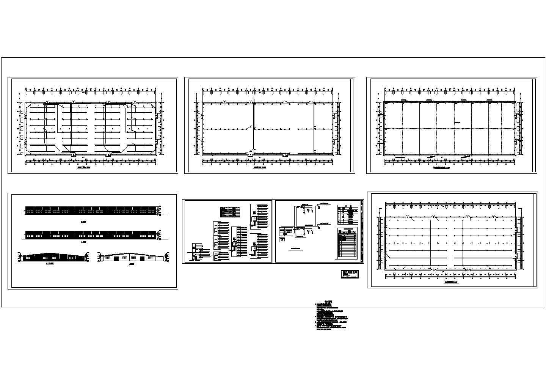 某单层木业厂房电气施工图纸图片1
