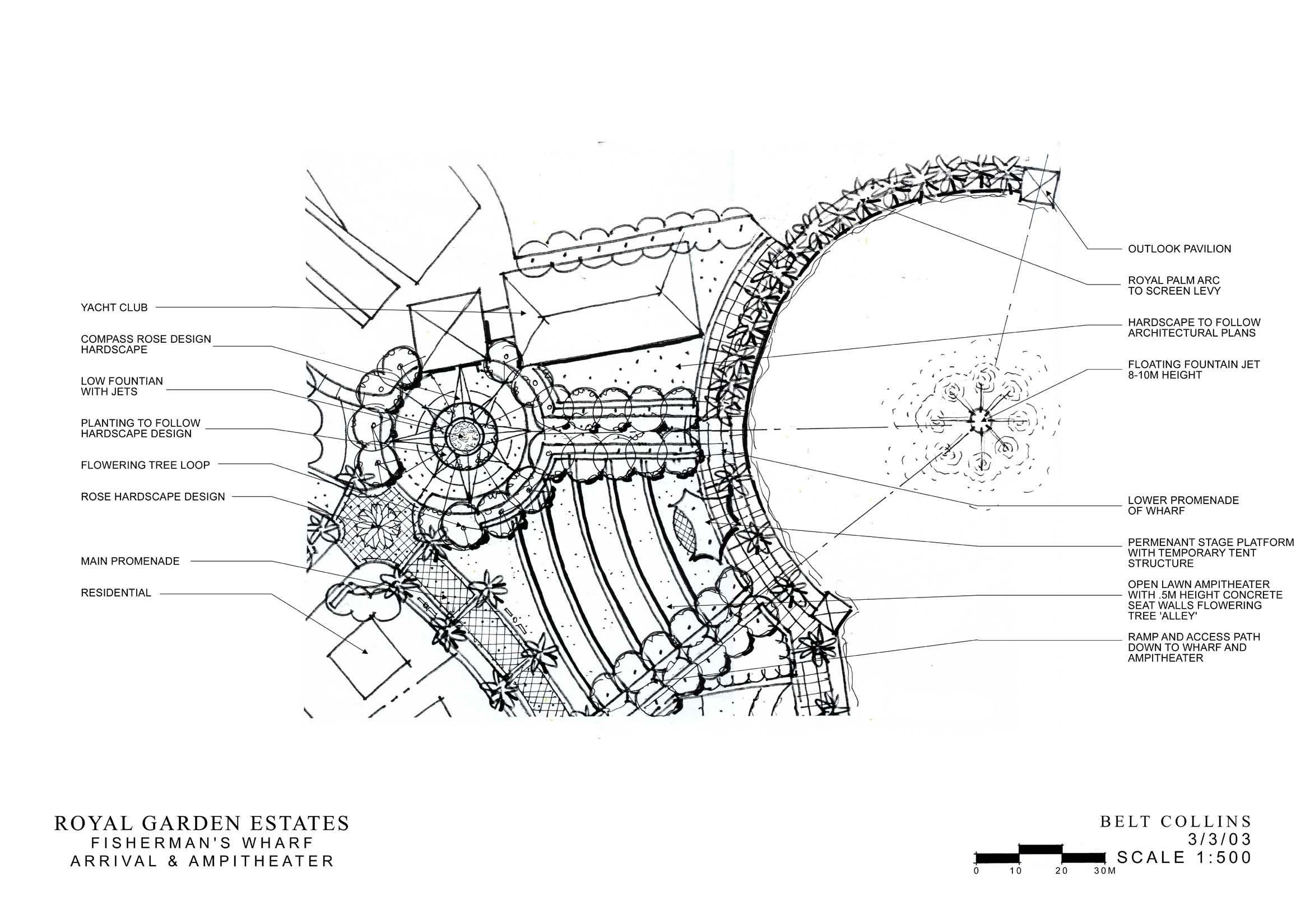 码头环境景观设计方案图片1