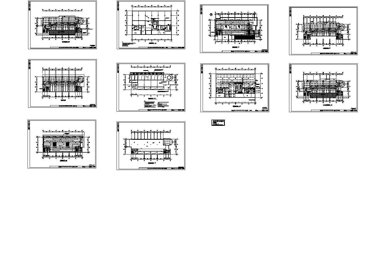 某十层综合楼电气照明平面图图片1