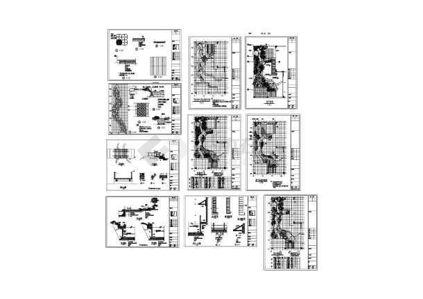 某园林绿化设计详细施工图-图一