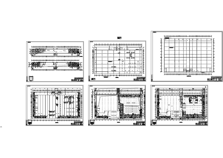 某三层厂房宿舍照明图纸图片1
