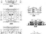 某地区两户双联式别墅结筑结构施工图含效果图(设计说明)图片1