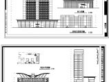 某市6116�O三层砖混结构,895�O单层框架结构大酒店设计方案图(两套)图片1