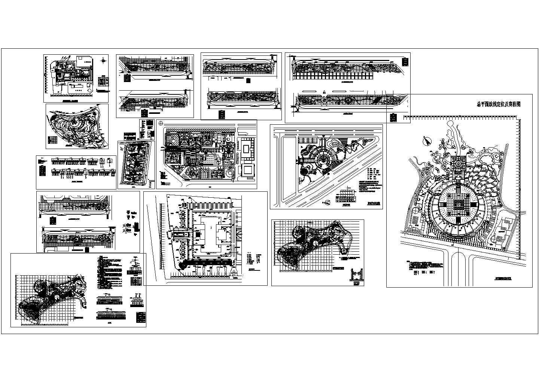 景观设计分类细部大全―照明系统设计cad图纸图片1