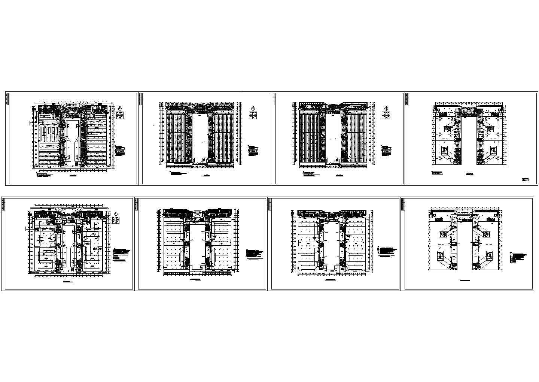厂房电气照明平面图纸图片1