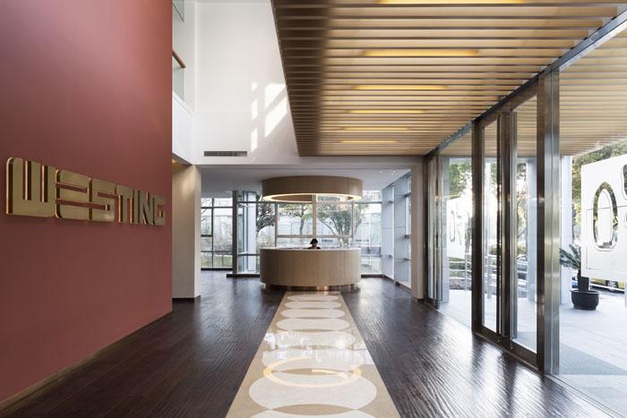 上海张江高科技园区的Westing办公室全套设计实景图图片1