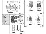 某地6层住宅小区地板辐射采暖施工暖通图纸图片1