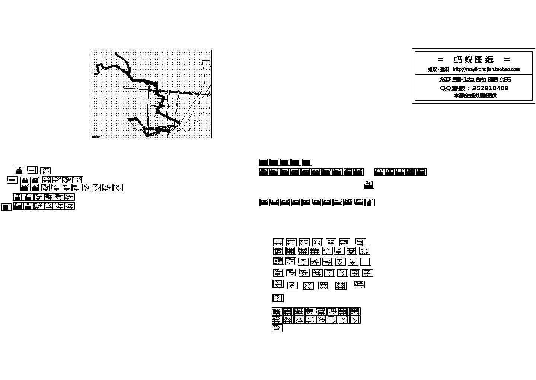 山西河道支流污水排水管道施工图图片1