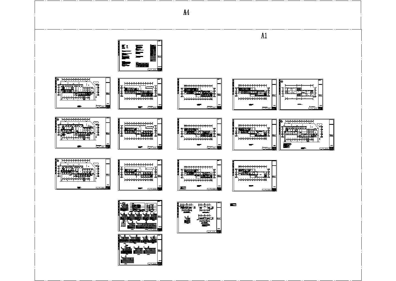 某四层学校行政办公楼电气图图片1