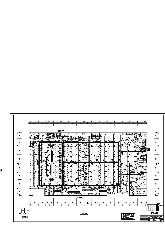 某地综合商场消防设计图图片1