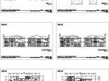 某地单体别墅建筑施工大样图,共六张图片1