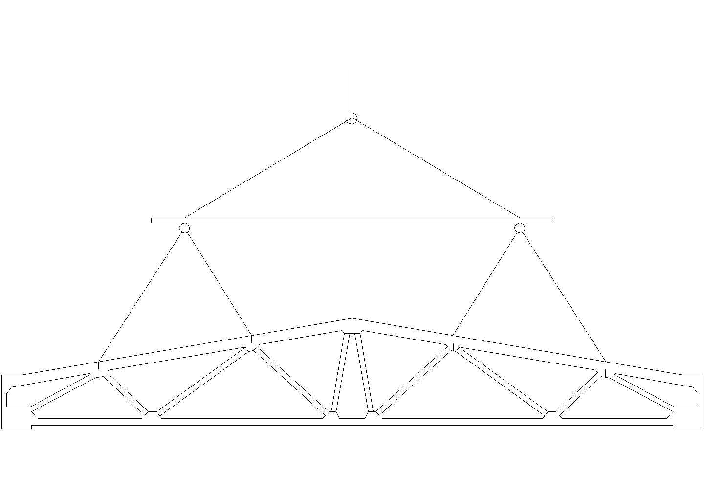 装配式单层工业厂房施工组织设计cad图图片1