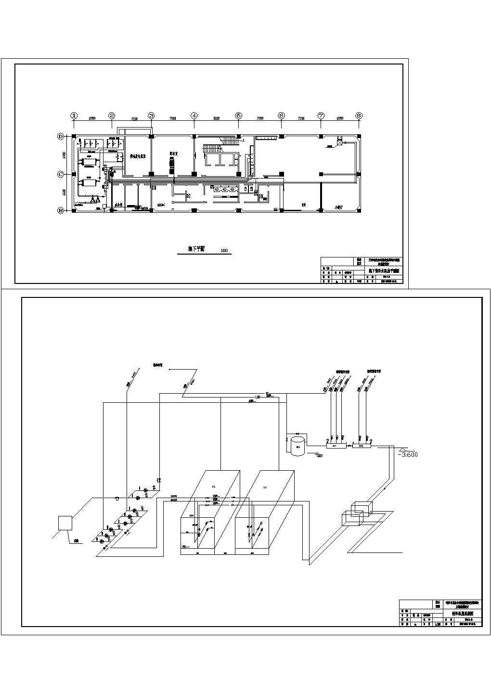 某综合楼暖通空调设计cad施工图图片1