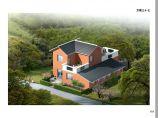 156平方米单家独院式农村别墅设计cad图,含效果图图片1
