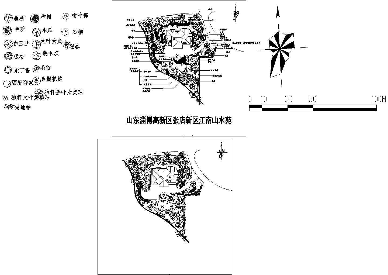 cad植物图例图片1