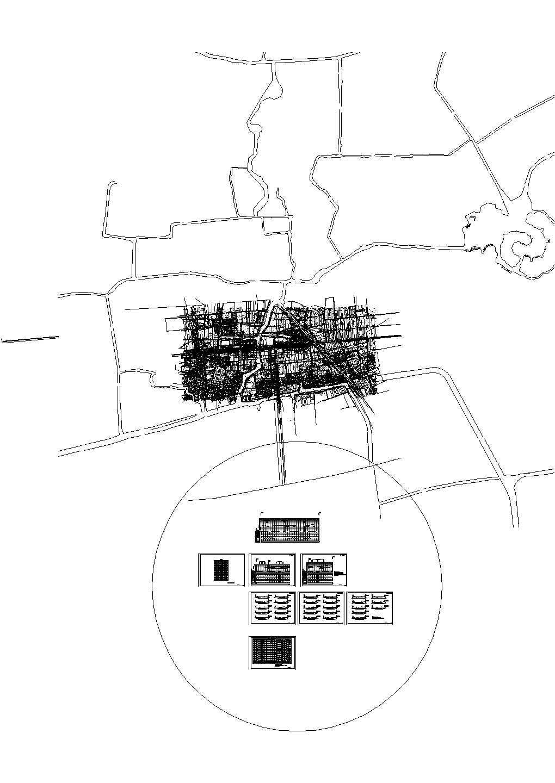 施马大道延伸段路面工程--道路专业设计图纸图片1