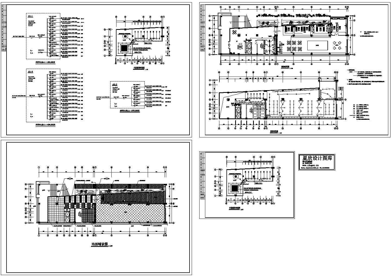 某会所电气设计图(共4张图纸)图片1