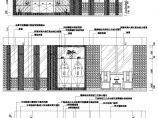 别墅餐厅装修CAD立面图图片1