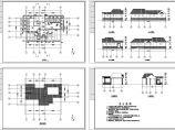 某100�O单层砖混结构公厕建筑施工图图片1