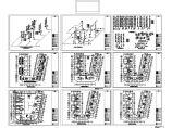 某地长50.1米 宽48米 7层住宅给排水设计CAD图图片1