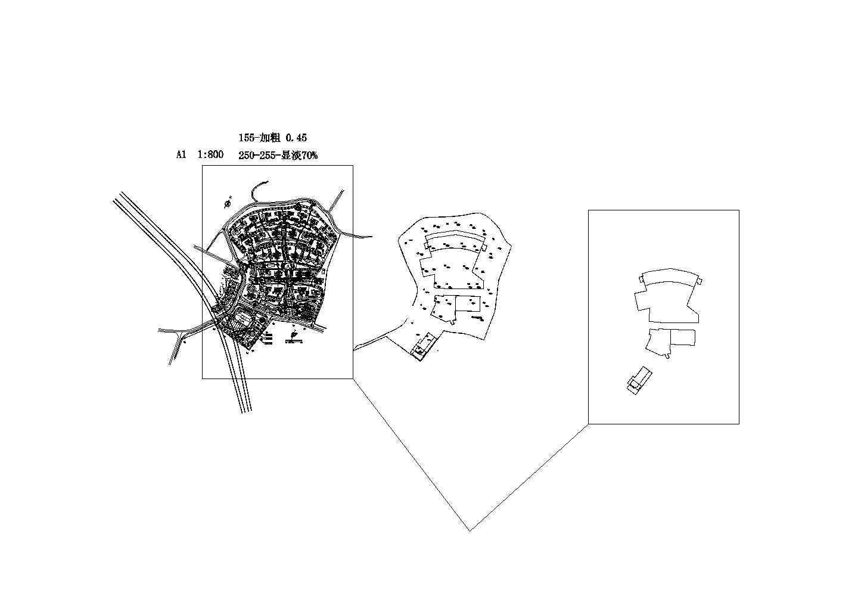 某地区东宝小区总平面设计图图片1