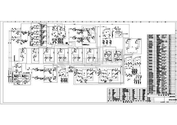 某工程全膜法锅炉补给水处理系统图-图一