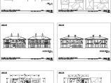 某地单体别墅建筑施工设计cad图纸,共六张图片1