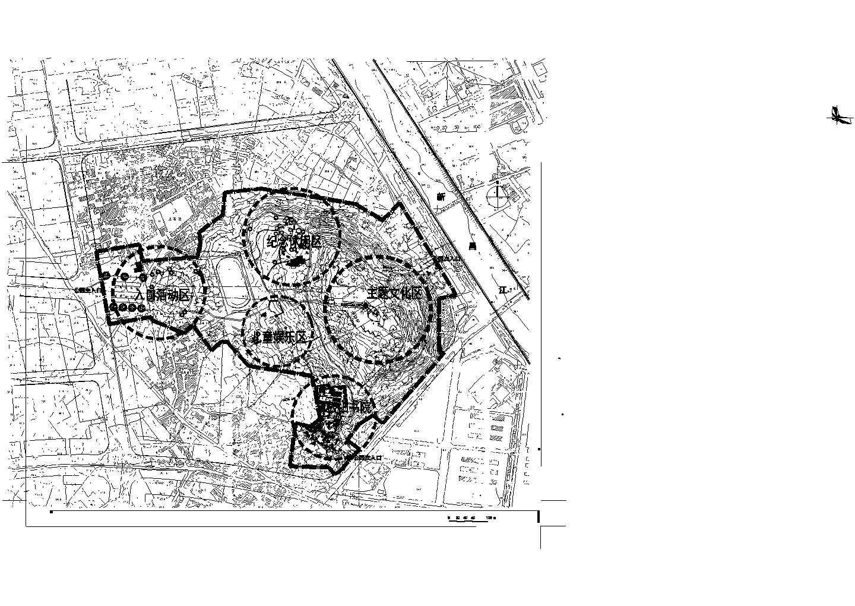 新昌鼓山公园设计CAD图纸图片1