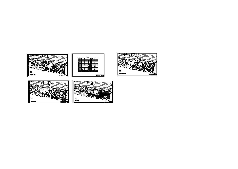 某大型商业广场景观设计施工图图片1