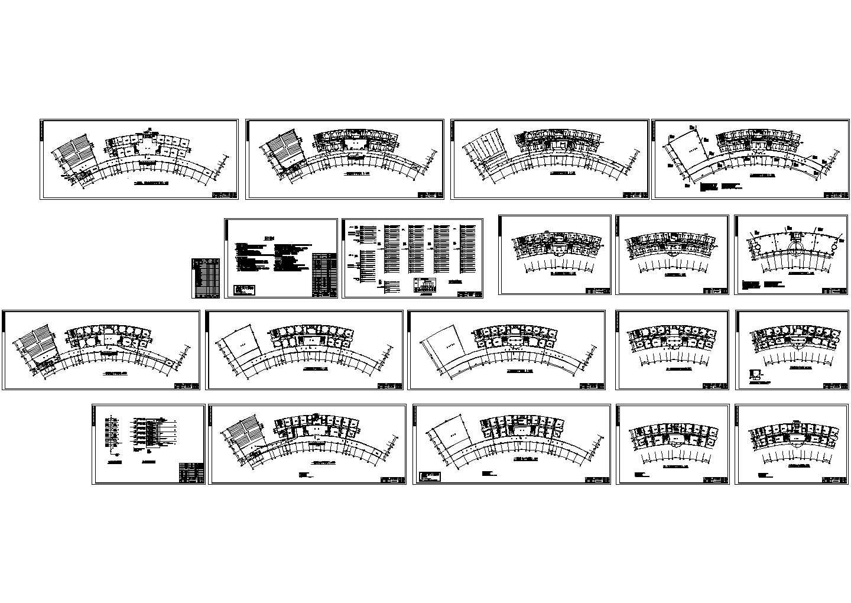 某地上六层办公楼电气施工图纸图片1