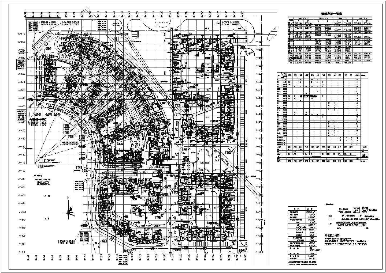 某9万平米万科六期住宅建筑总平面图.图片1