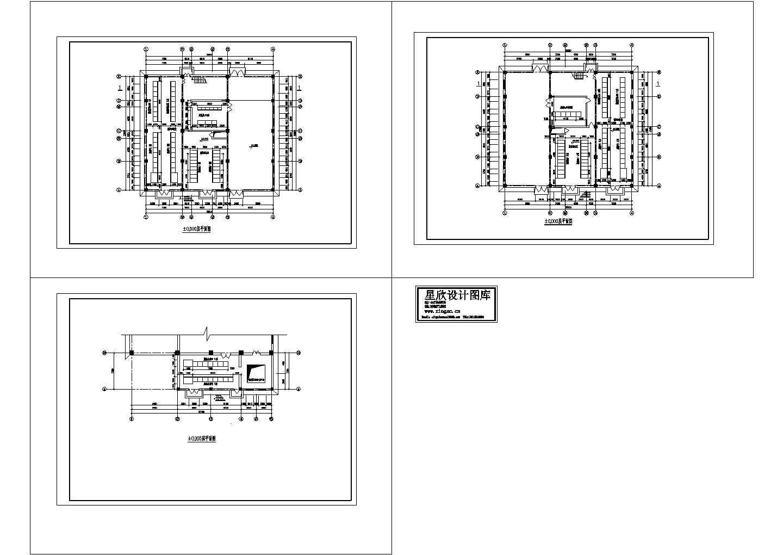 脱硫电气设备布置图纸设计图片1
