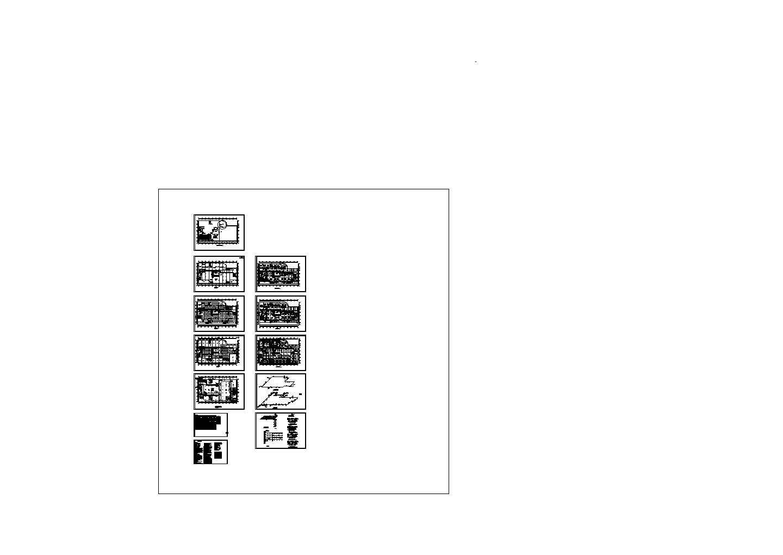 [甘肃]多层商业办公楼空调通风防排烟系统设计施工图图片1
