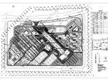 某大学校园景观设计CAD总平面图图片1