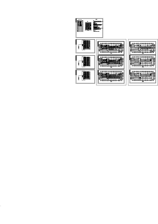 某3层医院照明系统图设计图片1