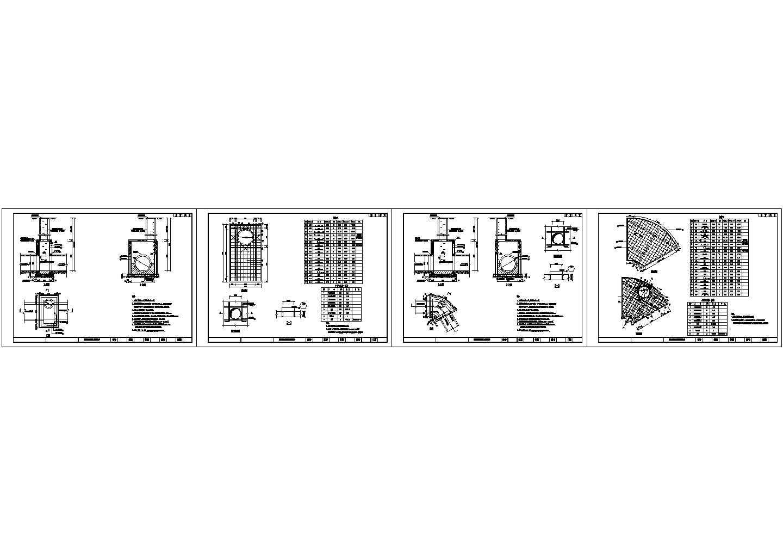 污水检查井设计详图图片1