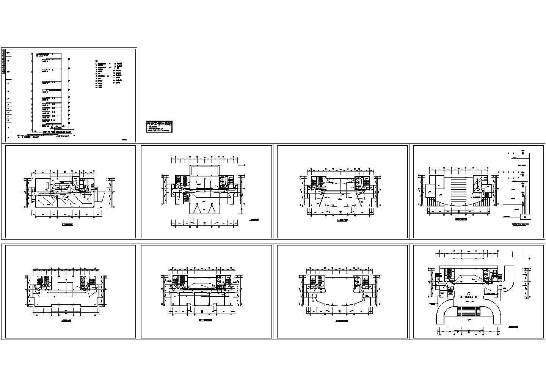 行政楼消防平面火灾报警系统CAD图图片1