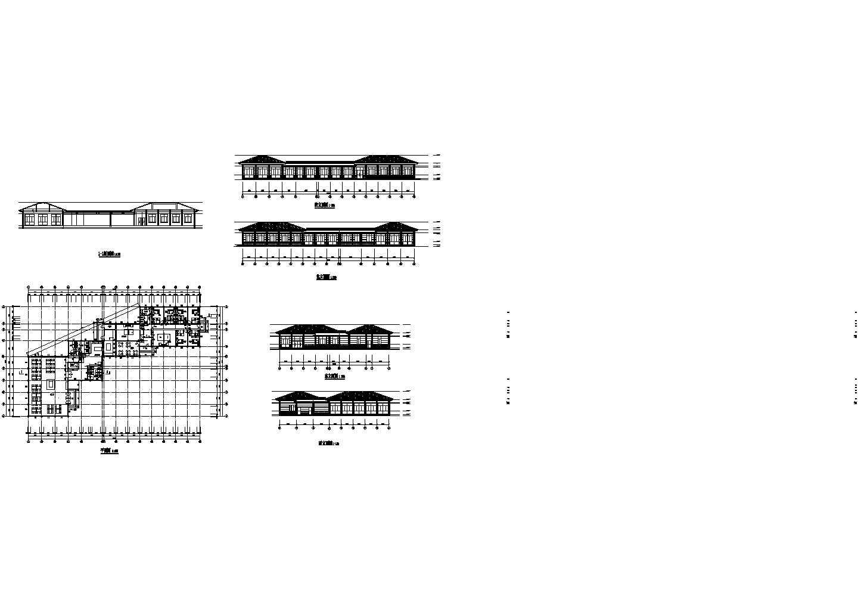 食堂全套装修设计图纸图片1