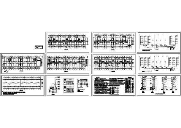 住宅楼全套电气施工图-图一