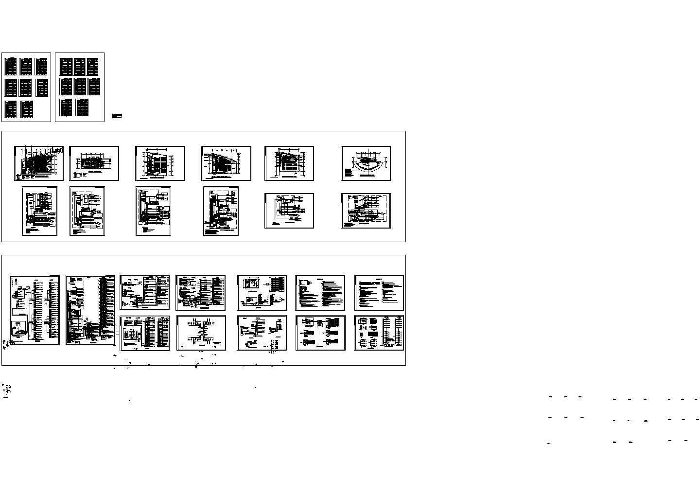 综合布线系统CAD图图片1